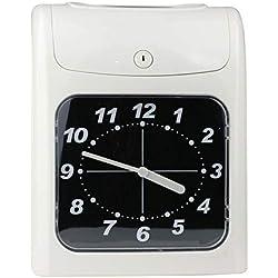 Reloj de fichar manual con fichaje automático. Incluye 50 tarjetas