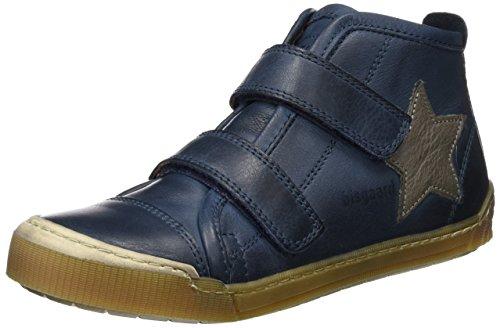 Bisgaard Shoe With Velcro 40704216, Scarpe da Ginnastica Unisex Bambini Blu (600-1 Jeans)