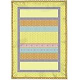 Bassetti Granfoulard.- Plaid Cortona color V4 amarillo en medida 135x190