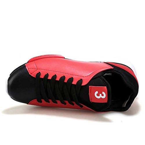 ZXCV Scarpe all'aperto Mens Fitness Air Bubble Sport Walking Scarpe da corsa sportive Scarpe da ginnastica leggere A