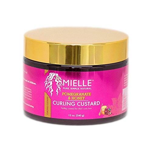 Mielle Organics Granatapfel & Honig Curling Custard 12oz (Mielle Organics)