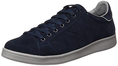Geox U Warrens B, Baskets Basses Homme Blau (NAVYC4064)