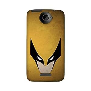Wrapit Comic Superhero Batman Gold Hard Back Case Cover For HTC One X