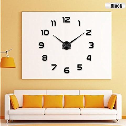 stile europeo e americano, orologi minimalista soggiorno muto camera orologio