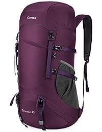 Gonex 45L Mochila Senderismo Bolsa de Trekking Bolsa Plegable Ligero Camping Deporte Vivac Viaje Equipaje…