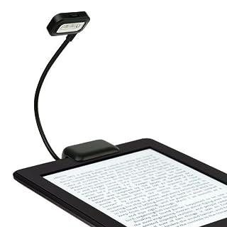 alisable schwarz Dual-LED-Wechselrahmen Leselicht für Amazon Kindle Paperwhite, Voyage, Kindle 15,2cm, Nook, eBook Readers, Tablets, PDAs, Handys