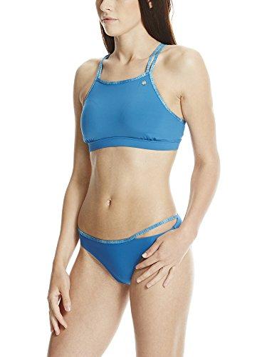 Bench Racer Front, Bikini Donna Blu (Mykonos Blue BL192)