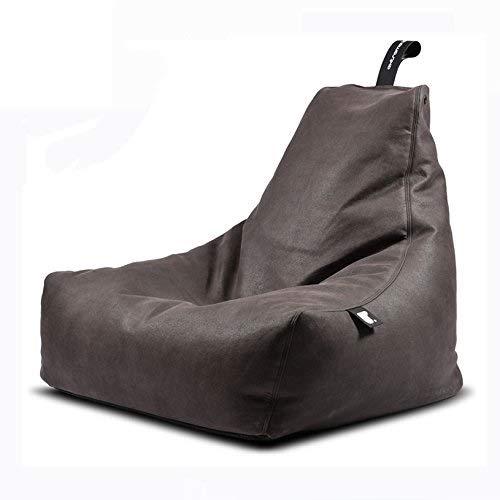 Sitzsack B-Bag MIGHTY Kunstleder in 4 rustikale Farben (Anthrazit)