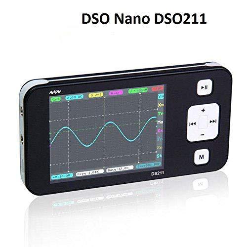SainSmart Upgrade portátil Mini Nano brazo DSO osciloscopio de almacenamiento digital de mano bolsillo