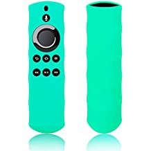 Eono Essentials Case for Alexa Voice Remote for Fire TV Stick, Fire TV Streaming Media Player, and Fire TV Cube (seafoam)