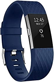 For Fitbit Charge 2 Bands, Adjustable Replacement Sport Strap Bands for Fitbit Charge 2 Smartwatch Fitness Wri