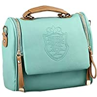 Heaven GH10025 Shoulder Bag for Women - Leather, Green