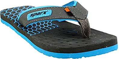 Sparx Slippers and flip floppers for Men (6, Blue)