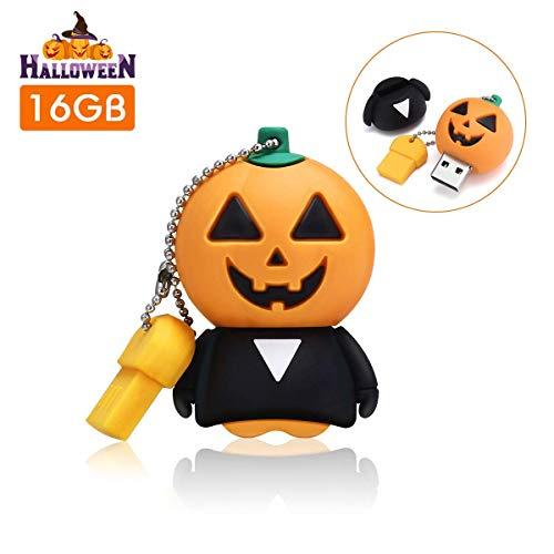 6gb, USB Stick Memory Stick USB 2.0 Pen Drive USB Flash Laufwerk mit Schlüsselanhänger für Halloween/Weihnachten Geschenk für Familie Freund Kind ()
