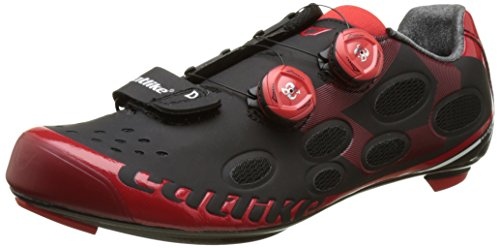 Catlike Whisper Route Chaussures Mixte Noir/Rouge