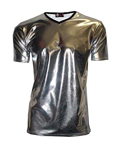 Insanity - Top - Uomo Silver Metallic Medium