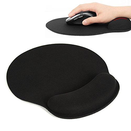 Alfombrilla de ratón , Extended Gaming Mouse Pad Con Reposamuñecas Savue Ergonómico de Memoria Para Trabajadores y Jugadores