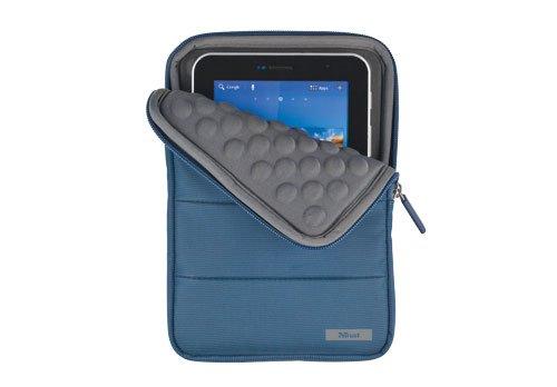 Trust Nylon Anti-Shock Bubble Hülle für Apple iPad Mini/Kindle Fire/Nexus 7/Galaxy Tab/Galaxy Tab 2 7.0/Galaxy Tab 7.0 Plus/Iconia Tab A100 blau