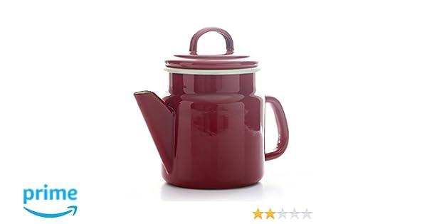 Dexam 17819208 Vintage Home Kaffeekanne 1,2 l 1,2 l Weinrot emailliert