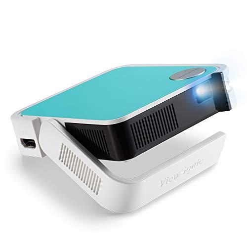 Viewsonic M1 mini Portabler LED Beamer (WVGA, 120 Lumen, HDMI, Micro USB, USB, 2 Watt Lautsprecher) multicolor