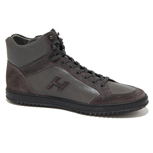 8631N sneakers uomo HOGAN REBEL DERBY grigio/marrone shoes men Grigio/Marrone