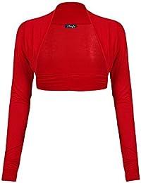 Fast Fashion - Cardigan Haut Manches Longues Plaine De Taille Plus Boléro Haussement - Femmes