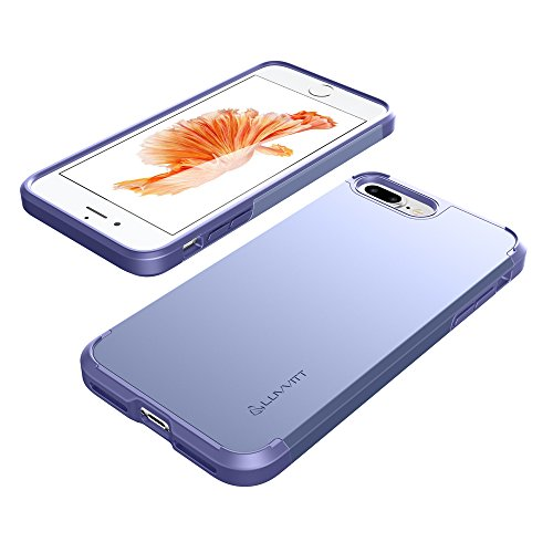 iPhone 7 Plus Fall, luvvitt [Ultra Armor], Case Best Heavy Duty Dual Layer Tough Cover für Apple iPhone 7 Plus Violet Blue/ Purple