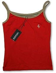 Ferrari F1 equipo Ladies algodón tiras Top tirantes, mujer, rojo, large