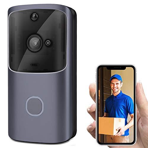 CA&jun Intelligente Türklingel WiFi Video Türklingel Remote Home Monitoring Video Voice Intercom