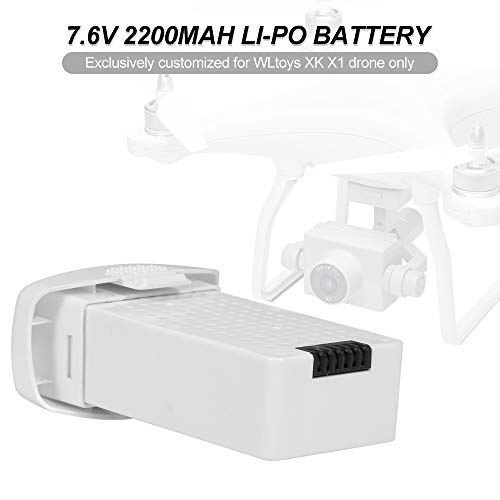Leefly WLtoys XK X1 Batería 7.6V 2200mAh Batería Li-Po para WLtoys XK X1 Drone