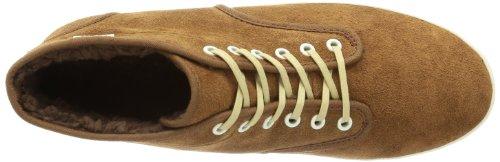 Vans  W HOUSTON (FLEECE)DCHSHND,  Sneaker donna bianco (Weiß ((Fleece) dachshund/antique white))