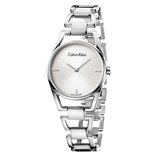 Calvin Klein Reloj Analogico para Mujer de Cuarzo con Correa en Acero Inoxidable K7L2314T