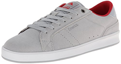 Scarpe Emerica: The Leo Dos GR Grey/Red