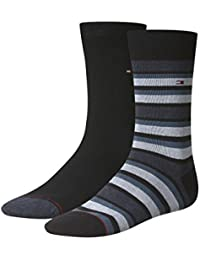 Tommy Hilfiger Herren Socken Th Men Variation Stripe Sock 2p, 2er Pack