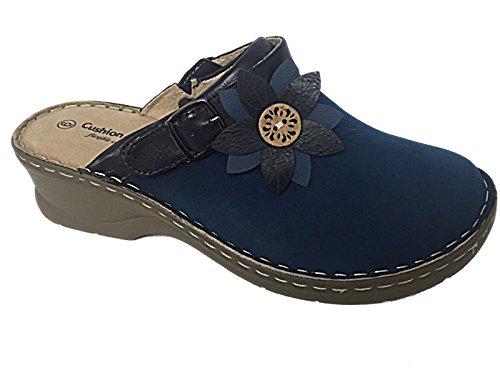Scarpe Da Blu Walk Donna Navy Cuscino C0Sgqq