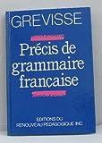 Précis de grammaire française bei Amazon kaufen