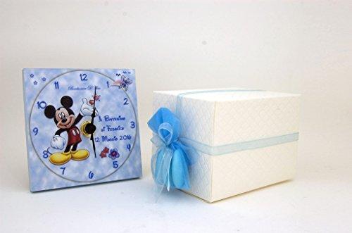 Bomboniera battesimo o compleanno bimbo personalizzata topolino