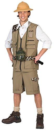 Wärter Kostüm - Kostüm Safari Herr Roy Größe 56/58