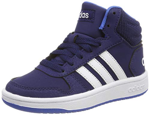 new style 2cb1d d5a5c adidas Unisex-Kinder Hoops Mid 2.0 K Fitnessschuhe, Mehrfarbig (Multicolor  000),