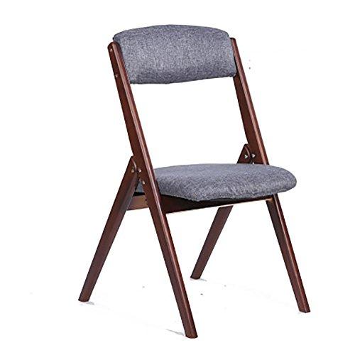 KSUNGB Klappbarer Stuhl aus Faltbarer Stuhl Arc Design Essensstuhl Freizeit Balkonstühle Bürostuhl...