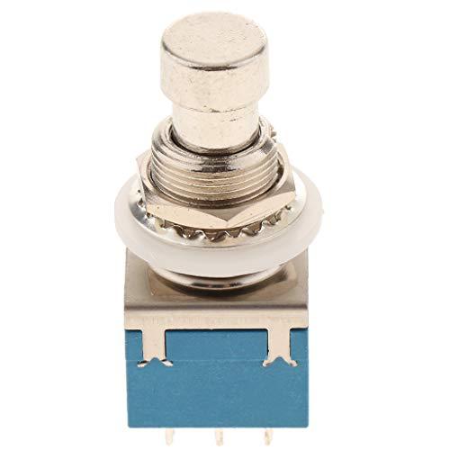 Elektrischer Fußschalter Pedalschalter Druckschalter Trittschalter, aus Eisen - Blau