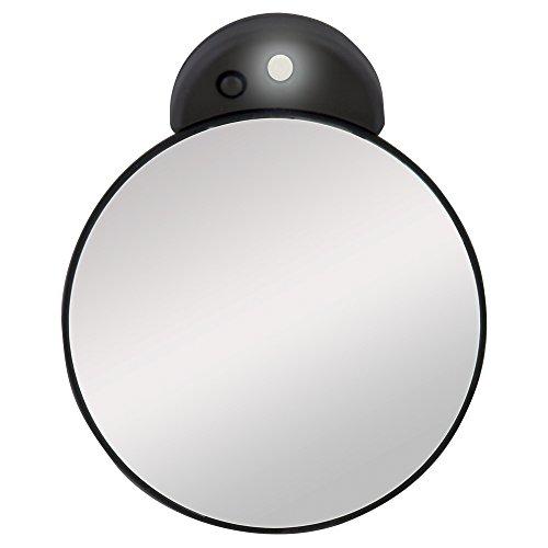 Zadro FC15L Vergrößerungsspiegel, 15-fach, beleuchtet, Grau