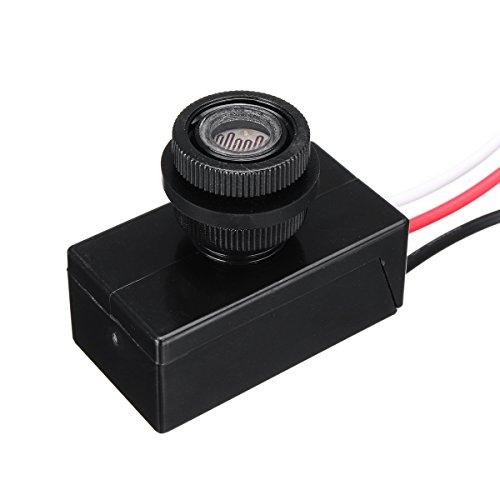 DyNamic Nk-B/E305 80V~305Vac Daylight Dusk To Dawn Sensor Photoelectric Switch Flush Mount 50/60Hz -