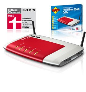 AVM Fritzbox 6360 Cable Unitymedia