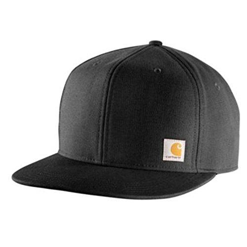 Carhartt Ashland Cap - Schwarz CH101604001BLK Strickmütze Hüte Beanie Mütze Kappe Baseball-Cap Männer CH101604001BLK-One Size Carhartt Baseball-kappe