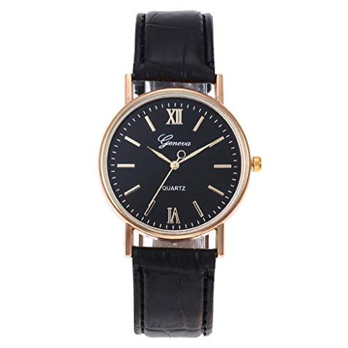 Für Frau armbanduhren Drei Design Ledergürtel Einzigartiges Damen Römischen Auge Zifferblatt Friendgg Lässig Armbanduhren Präzisionswaage Analog v80OmNnw