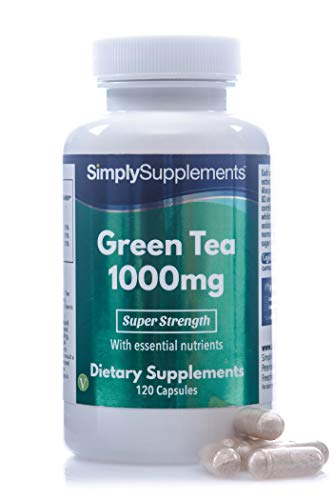 Té verde 1000 mg - 120 Cápsulas - Apto veganos -