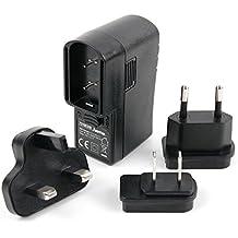 DURAGADGET Kit De Adaptadores Con Cargador Para Altavoz Razer Leviathan Mini / Anker Soundcore / Sony H.EAR GO SRS-HG1 - ¡Para Que Pueda Conectar Su Altavoz Alrededor Del Mundo!