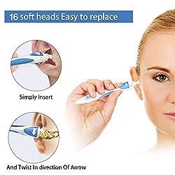 Ohrenreiniger, Spirale Silikon Ohr Wachs Entfernung Tool Kit for ohrenschmalz entfernen MEHRWEG