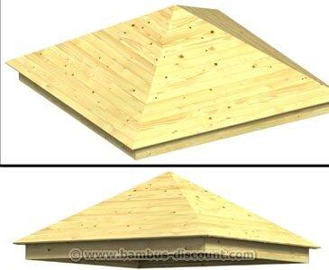 Holzdach Gewicht
